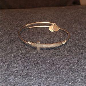 Cross Alex and ani bracelet